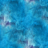 Impressionism  artist blue seamless watercolor Stock Image