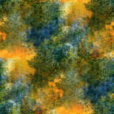 Impressionism  artist blue, yellow, green Royalty Free Stock Photos