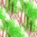 Impressionism  artist green, brown seamless Stock Image
