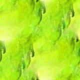 Impressionism artist green, marsh seamless royalty free illustration