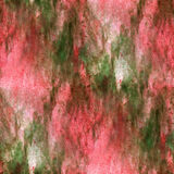 Impressionism  artist green, red seamless Stock Image