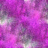 Impressionism  artist lilac seamless  watercolor Royalty Free Stock Photo