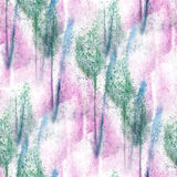 Impressionism  artist pink, green, white seamless Stock Photography