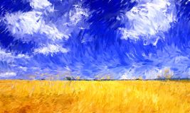 Impressionismusölgemälde Stockfotos
