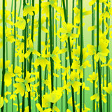 Impressionist Forsythia background Royalty Free Stock Image