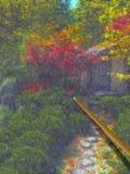 Impressionist het Schilderen stock illustratie