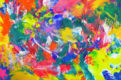 Impressionist style vintage texture or background. Stock Photography