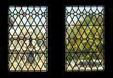 Impressionist Windows Stock Image