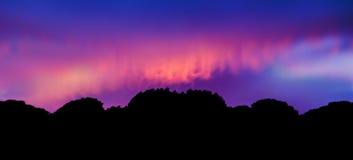 Impressionista crepuscular imagem de stock