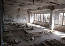 Impressions of an abandoned ruin Royalty Free Stock Photo