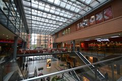 Impressions from the Arcades at Potsdamer Square, Potsdamer Platz in Berlin, Germany Stock Photo
