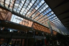 Impressions from the Arcades at Potsdamer Square, Potsdamer Platz in Berlin, Germany Stock Photography
