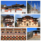 Impressions of Bhutan Royalty Free Stock Image