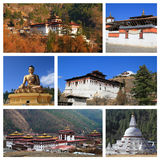 Impressions of Bhutan Stock Images
