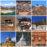 Impressions of Bhutan Royalty Free Stock Photos