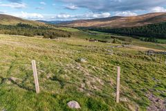 Cairngorms Landscape royalty free stock images