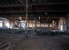 Impressions d'une ruine abandonnée images stock
