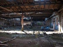 Impressions d'une ruine abandonnée photographie stock libre de droits