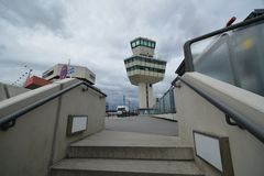 Impressions de Berlin Tegel Airport, Allemagne Photo stock