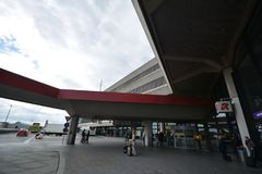 Impressions de Berlin Tegel Airport, Allemagne Images libres de droits