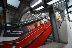 Impressions de Berlin Tegel Airport, Allemagne Photos libres de droits