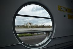 Impressions de Berlin Tegel Airport, Allemagne Photo libre de droits