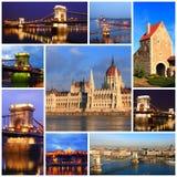 Impressions de Budapest Image libre de droits