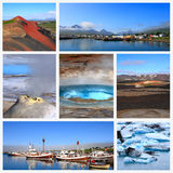 Impressions de l'Islande Images stock