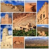 Impressions de l'Oman Photos libres de droits