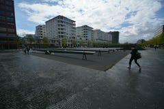 Impressions de la place de Potsdam, Potsdamer Platz à Berlin depuis le 11 avril 2017, l'Allemagne Images libres de droits
