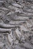 Impressions de pneu Photographie stock libre de droits
