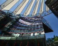 Impressions de Sony Center à la place de Potsdam, Potsdamer Platz à Berlin depuis le 1er juin 2017, l'Allemagne Photo stock