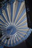 Impressions de Sony Center à la place de Potsdam, Potsdamer Platz à Berlin depuis le 1er juin 2017, l'Allemagne Photos stock