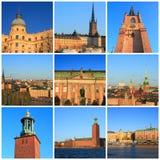 Impressions de Stockholm Image libre de droits