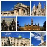 Impressions de Vienne Images libres de droits