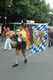 Impressions du mille Fanmeile de fan à la coupe du monde du football 2006 à Berlin le 30 juin 2006 avant le betwe de quart de fin Photo stock