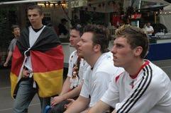 Impressions du mille Fanmeile de fan à la coupe du monde du football 2006 à Berlin le 30 juin 2006 avant le betwe de quart de fin Images stock