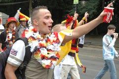Impressions du mille Fanmeile de fan à la coupe du monde du football 2006 à Berlin le 30 juin 2006 avant le betwe de quart de fin Image stock