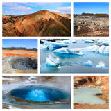 Impressions of Iceland Royalty Free Stock Photos