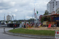 Impressions from the Kieler Woche 2014 Royalty Free Stock Photography