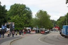 Impressions from the Kieler Woche 2014 Royalty Free Stock Photos