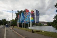 Impressions from the Kieler Woche 2014 Stock Photos