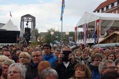 Impressions from the Kieler Woche 2014 Royalty Free Stock Image