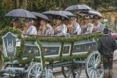 Impressions of the Leonhardi pilgriame in Toelz Royalty Free Stock Photo