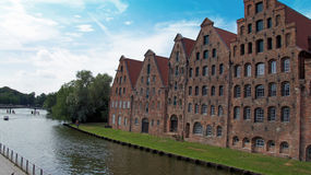 Impressions from luebeck. In northern germany in summer Royalty Free Stock Photos