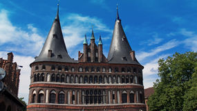 Impressions from luebeck. In northern germany in summer Stock Images