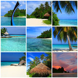 Impressions of Maldives Royalty Free Stock Photos