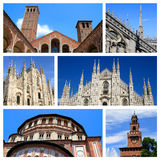 Impressions of Milan Stock Photos