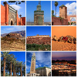 Impressions of Morocco Stock Photography