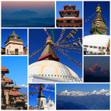 Impressions of Nepal Stock Images